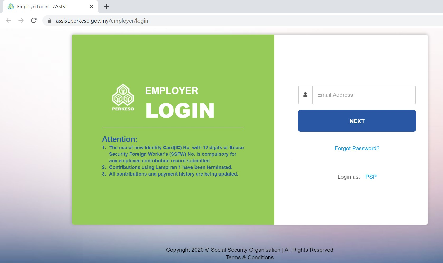 How To Register And Use Assist Perkeso Portal