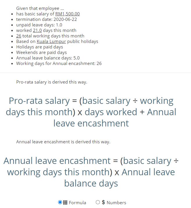 Leave Encashment On Employee Termination